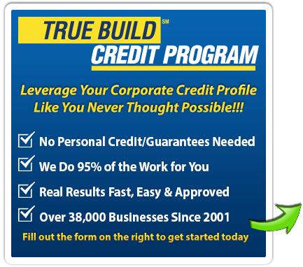 Business Credit The Truebuild